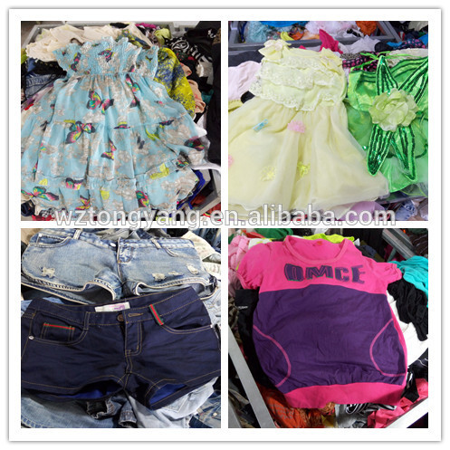 used clothing textile recycling old swimming suit men cotton short pants