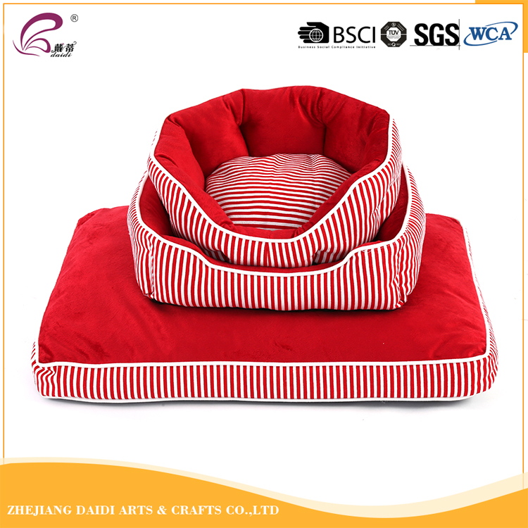 Promotional luxury small dog bed