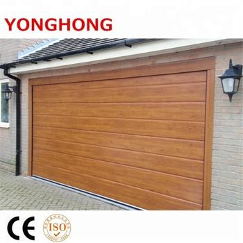 Golden Oak Wood Color Steel Garage Door Remote Control