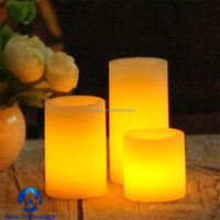 hot selling flameless wax led votive candles