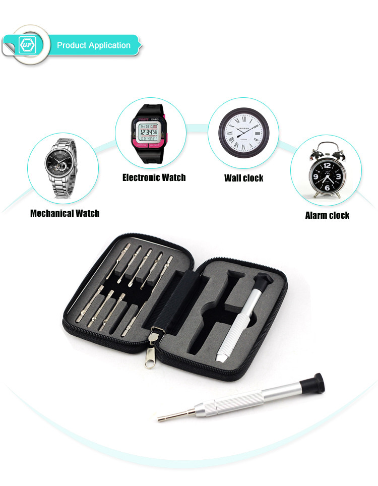 12 PCS Multifunction watch repair tool,watch repair tool kit,watch repair set