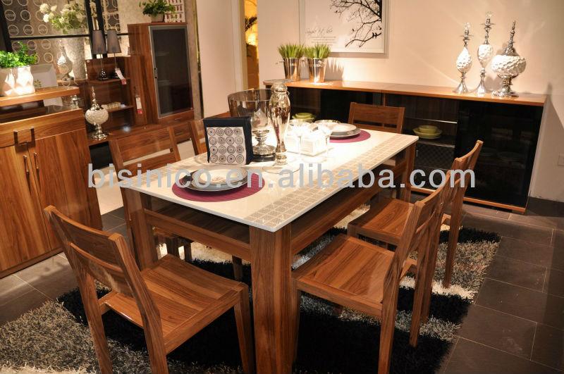 Nouvel l ment design moderne en bois de la maison salle for Table salle a manger jean nouvel
