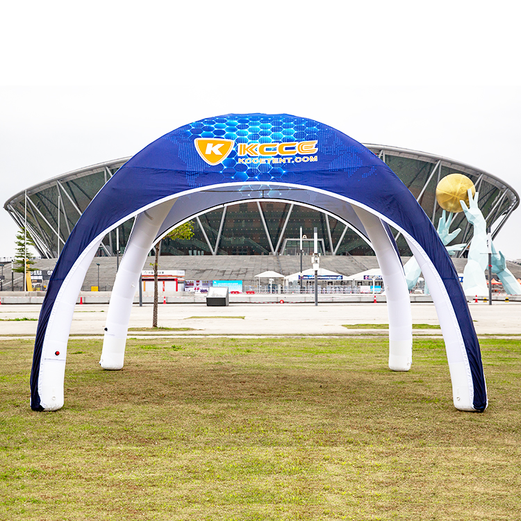 Outdoor customized inflatable air tight tent, advertising inflatables