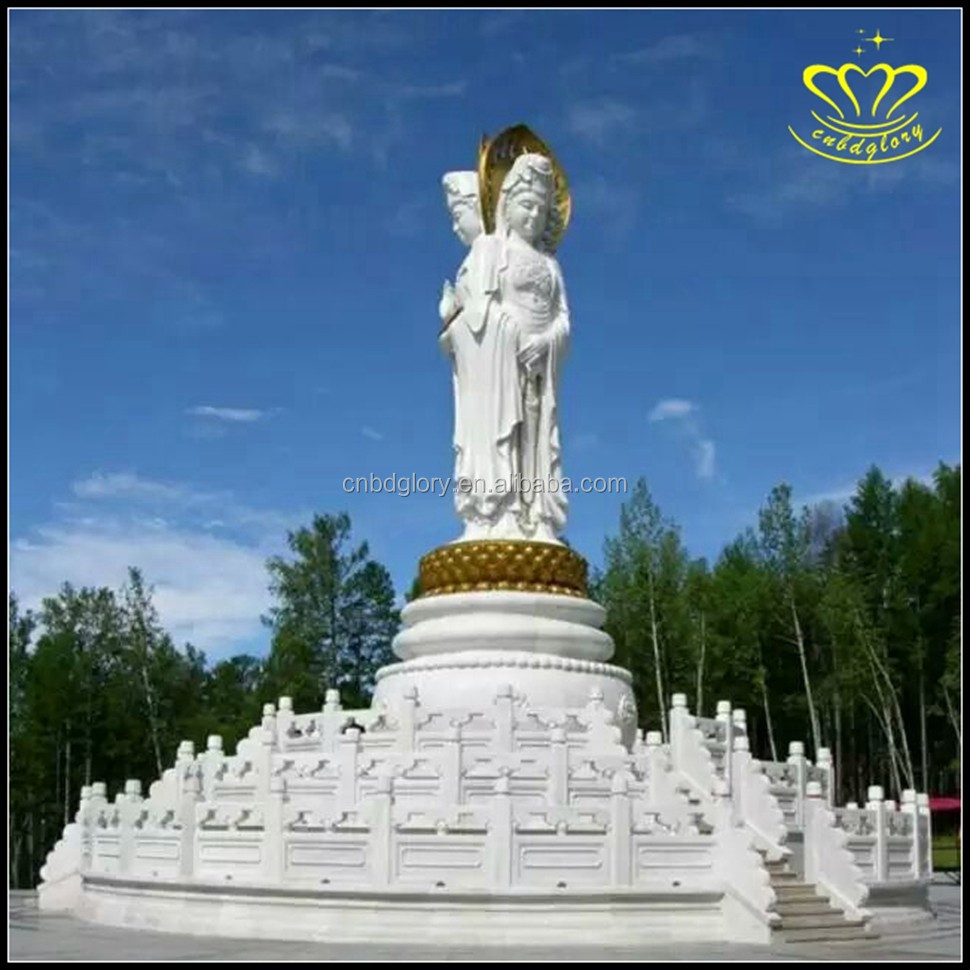 Hot Sales Chinese Kwan Yin Life Size Marble Statue