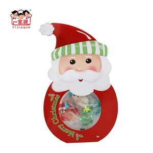 Merry Christmas Colorful Sweet Marshmallow Candy