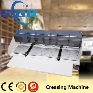 book cover creasing machine creasing paper machine creasing die cutting machine