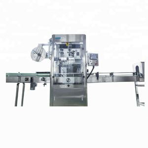 15000BPH K89 Auto shrink wrapping label machine applied in beverage,food,chemical,medicine production lines