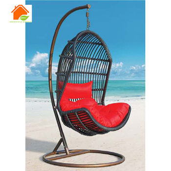 Rattan Basket Swing Chair India Swing Chair With Footrest