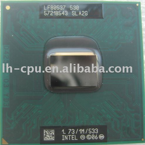 Cm530 1.73ghz 1m 533 Sla2g Sla48 Notebook Cpu Mobile Cpu Laptop ...
