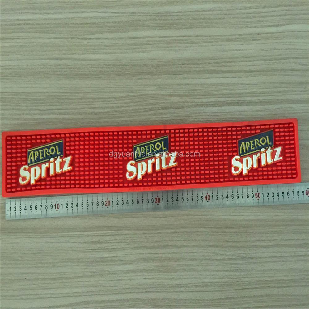 Aperol Spritz Benutzerdefinierte Marken Gummi Bierbar Matte Mit Logo ...