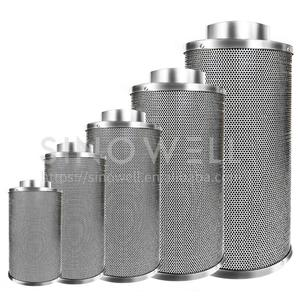 Hydroponics Odor Control Activated Carbon Air Filter