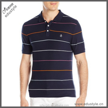 Small order accept custom men's polo t shirt in China factory