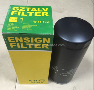Mann air compressor oil filter W11102
