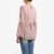 New Pink Lace Panel Muslim Blouse School Uniform Singapore Women's Wear