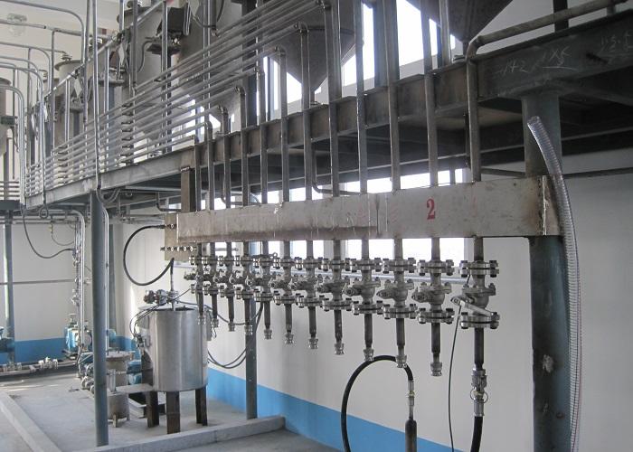 Complete set of spray tower washing powder plant / 1 ton 10 ton detergent powder making machine