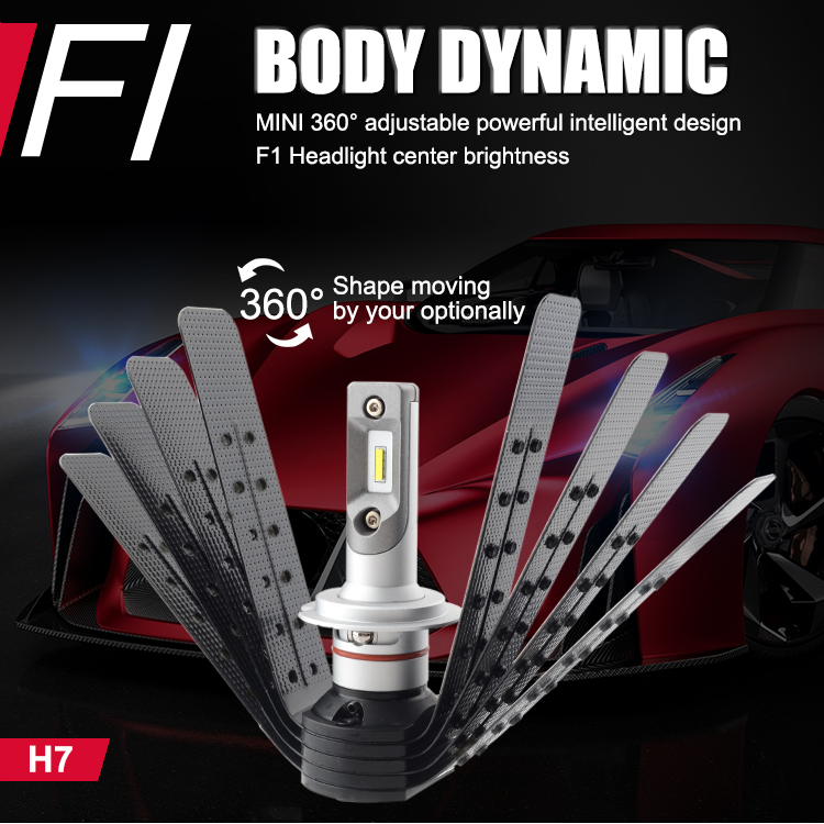 car headlight manufacturer led headlight bulb for car in large stock