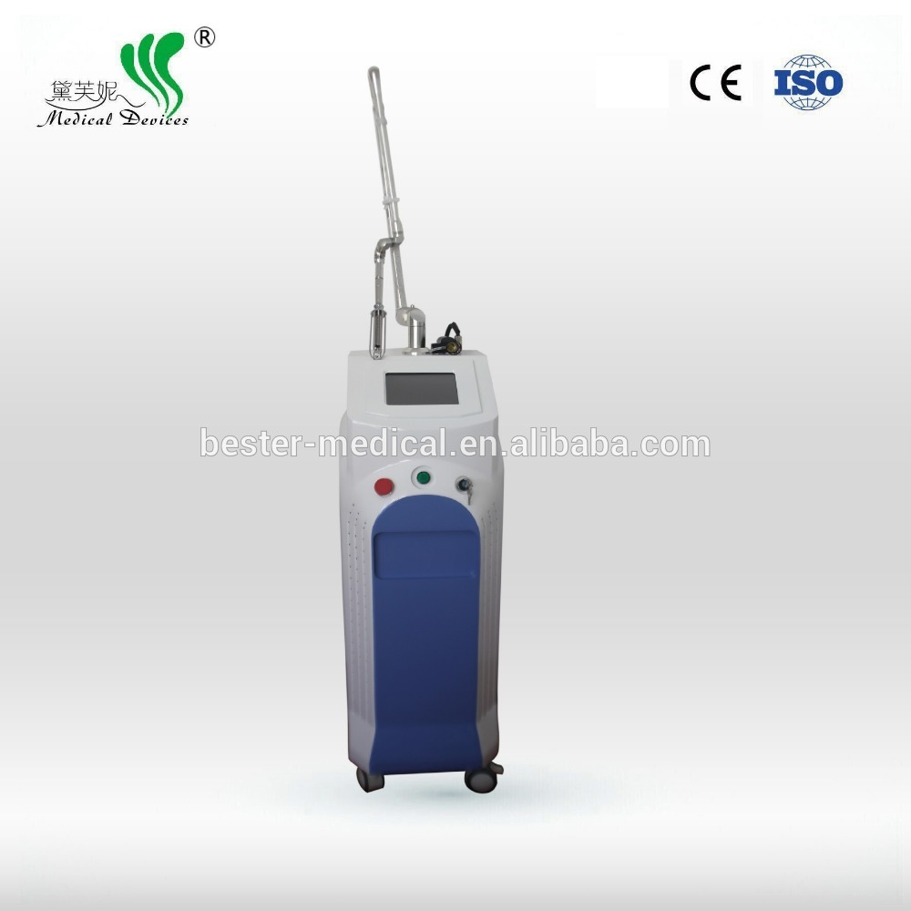 fraction co2 laser beauty machine/cold air blower laser removal