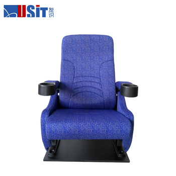 USIT UA651 Economic cinema chair /folding theatre chair with cupholder