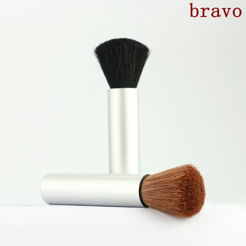 2 color option Blending brush Professional Foundation powder Brush New Fashion Women Flat face Kabuki blush Brushes