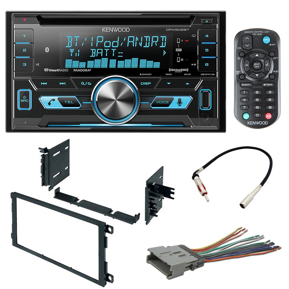 Cheap Stereo Receiver Antenna Find Deals On Kenwood Cd Player Wiring Harness Get Quotations Car Radio Install Mounting Kit Wire Adpater For Chevrolet