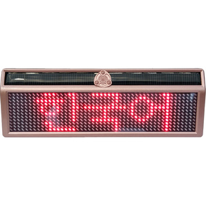 12x48 Car LED display sign with programmable messages function by phone Bluetooth APP