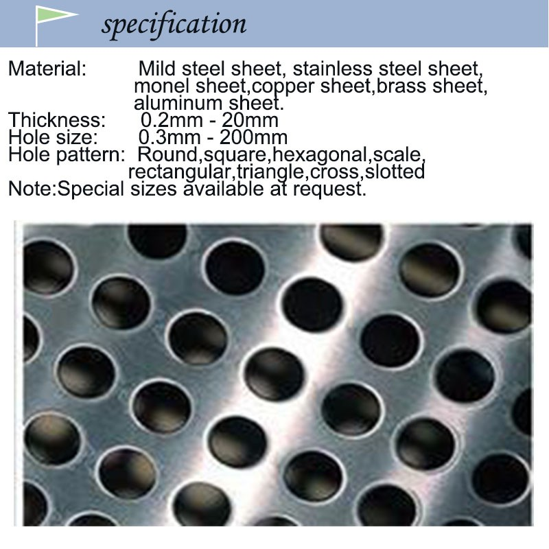 0.2mm thickness 0.1mm hole stainless steel perforated metal sheets for radiator covers philippines