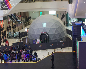 Turnkey Project 360-degree Dome Cinema