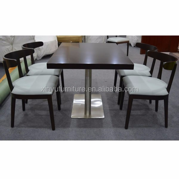 wooden tables and chairs for restaurant XYN4073