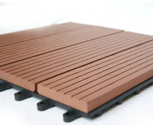 300x300mm wpc DIY floor tile /Outdoor easy install DIY WPC tile/wpc flooring