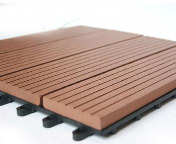 Mm wpc pavimento di piastrelle fai da te outdoor facile