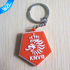 Special design high quality 3D rubber logo key chains