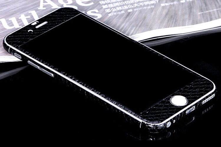 Snake textured sticker front and back screen protector film