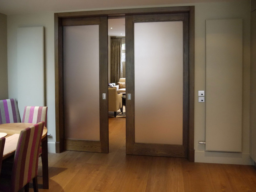 decorative partition wall double sliding glass door panels - buy