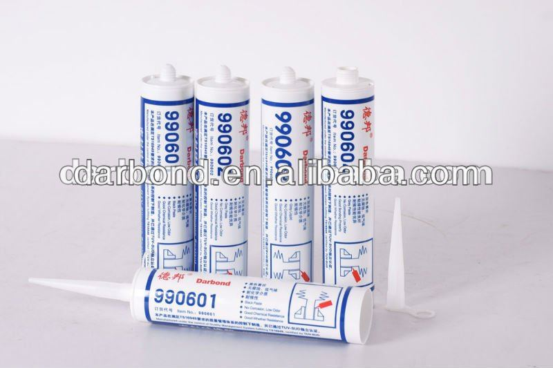Red High Temperature RTV Silicone Adhesive&Sealant for manufacturing