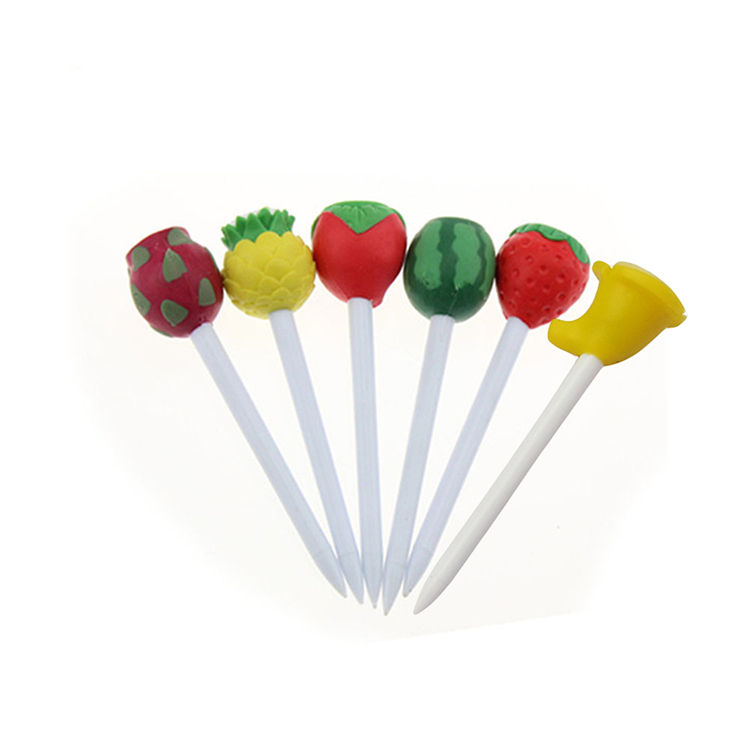 Hot selling high quality professional colorful plastic unique shape golf tee