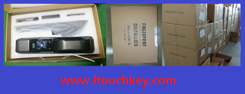 Touchkey TK-F1700 high security digital biometric WIFI fingerprint gate door lock with mobile APP control