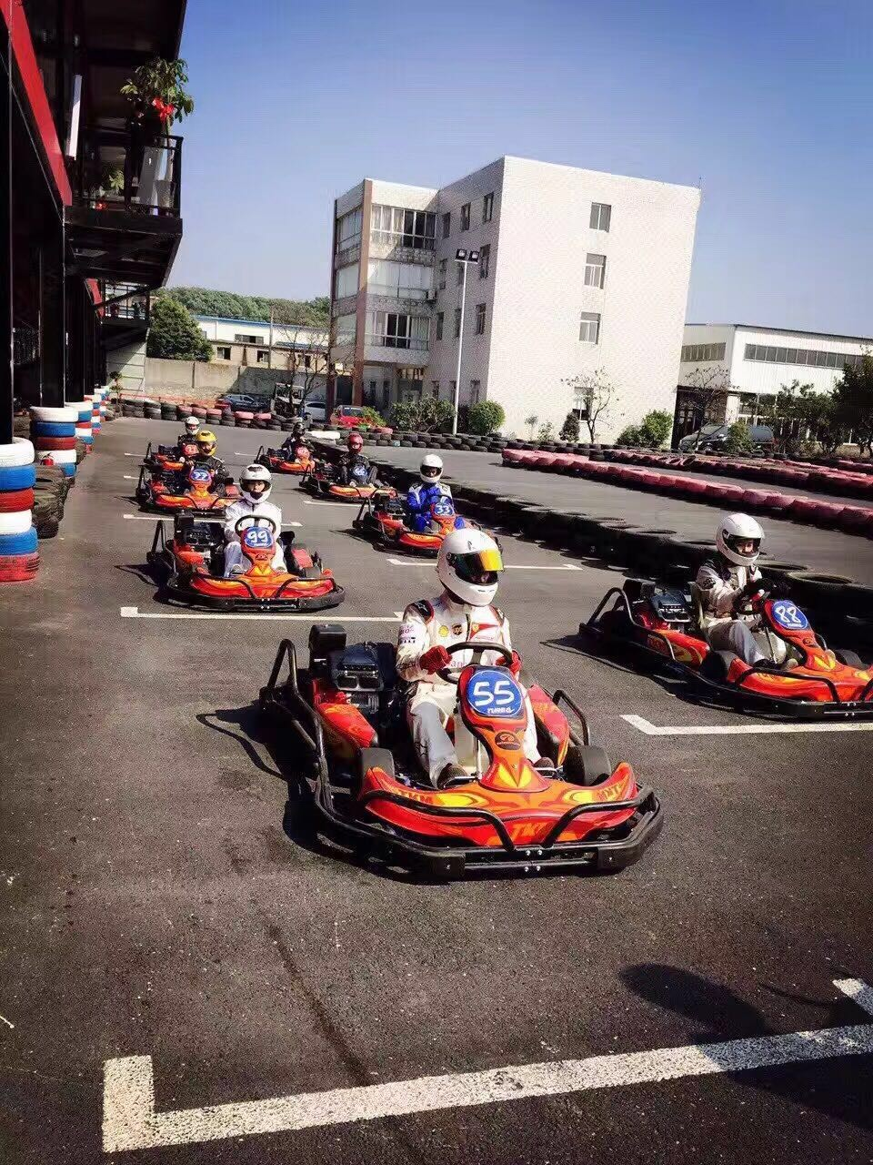 New Generation Adult Racing Go Kart/Karting Cars for Sale
