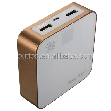 best external battery charger with AAA battery OEM packing mobile power bank