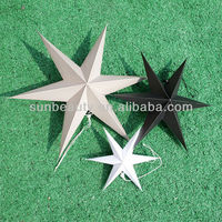 Hanging Decoration Star, Home Decoration Collection for Xmas