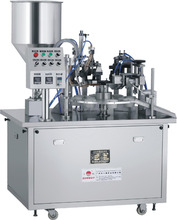 Manual Cosmetic Cream Tube Filling and Sealing Machine