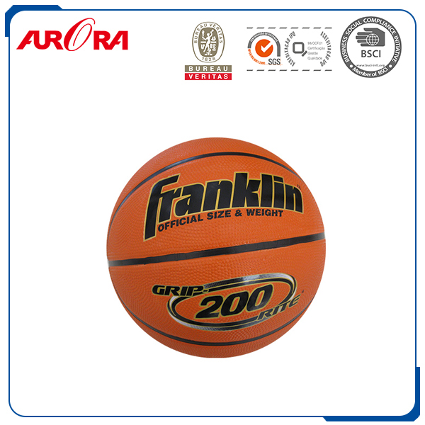 New Ball Rubber Material Laminated Basketball