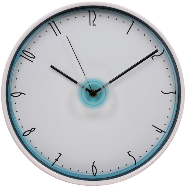 China wholesale home products 12 inch round quartz plastic wall clocks special modern design