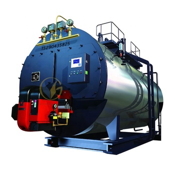 Industrial Central Heating System 10tons Natural Gas Oil Fired steam boiler for Nukus Uzbekistan Project