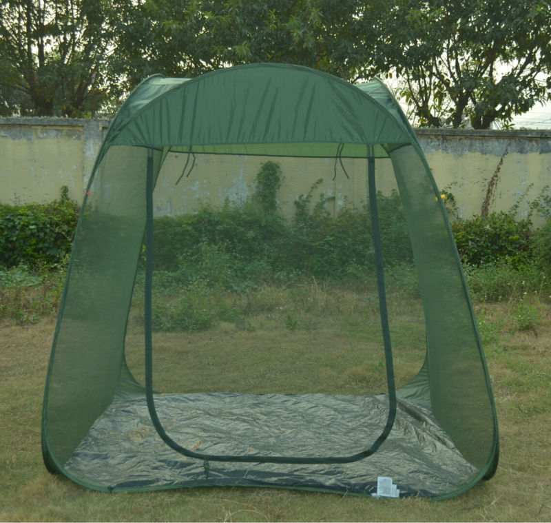 Steel Wire mosquito tent Pop Up family large portable outdoor gazebo garden tent & Steel Wire Mosquito Tent Pop Up Family Large Portable Outdoor ...