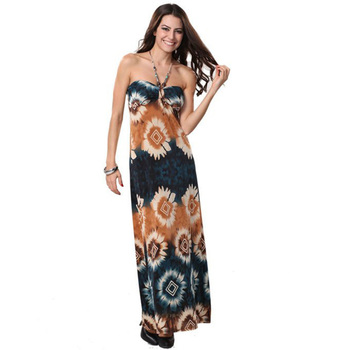 Tie Dye Floral Jersey Dresses,Print Maxi Dress,Plus Size Available - Buy  Maxi Dresses,Tie Dye Dress,Jersey Dress Product on Alibaba.com