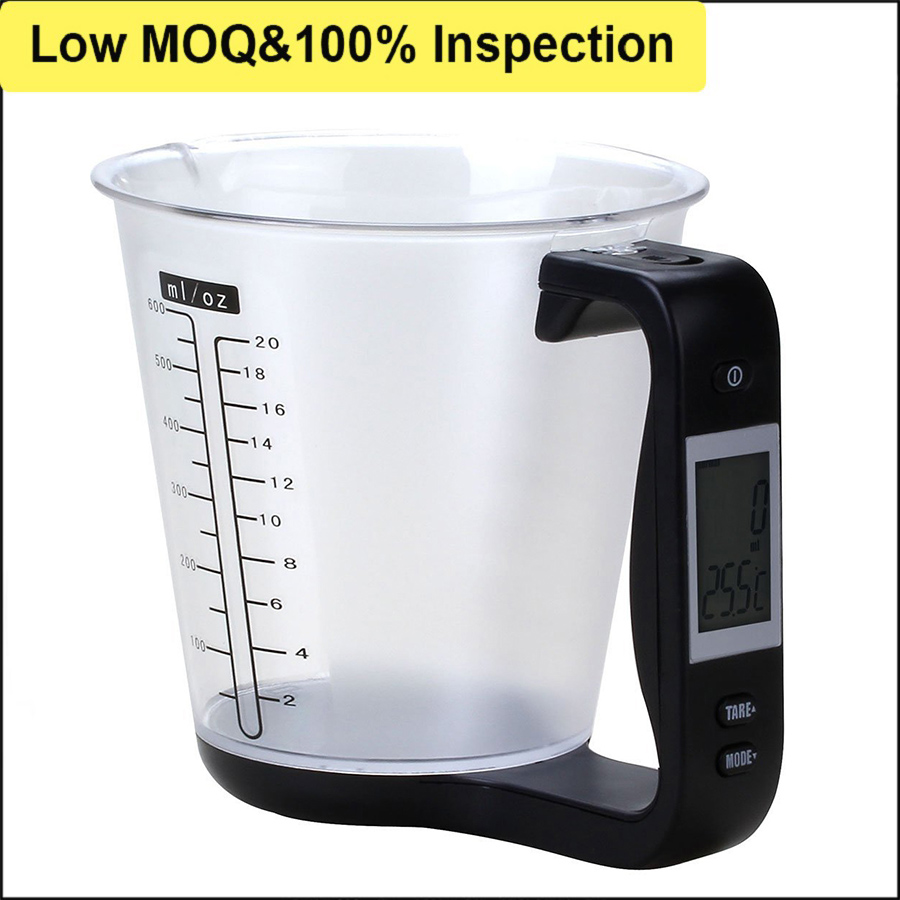 J&R High Quality Best Selling Electric LCD Screen Weight Measure Pet Dog Spoon