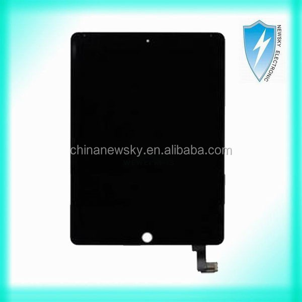 OEM LCD screen+digitizer touch screen assembly black for iPad air 2