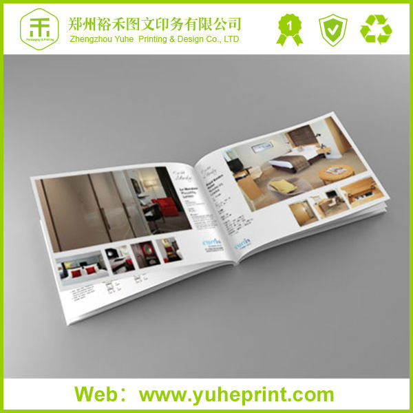 Free Design Hot Sale Fashional Custom Products Printing Embossing/Varnishing/3D Film Lamination/Hot Stamping Sample Catalogue