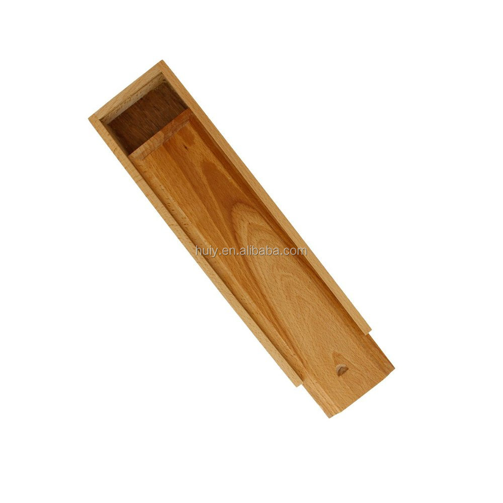 Small Wooden Pencil Case Boxes With Sliding Lid - Buy ...