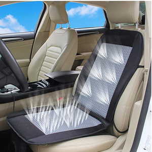 Car Mat Cooling air car Cushion seat Cover 12V air Ventilated Fan air Conditioned Cooler pad